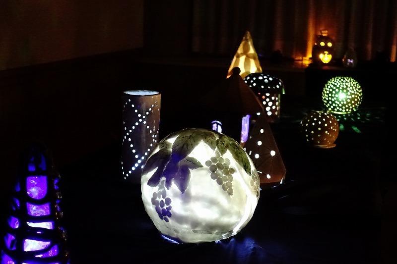 幻想的な灯り展・1_f0327034_21072250.jpg