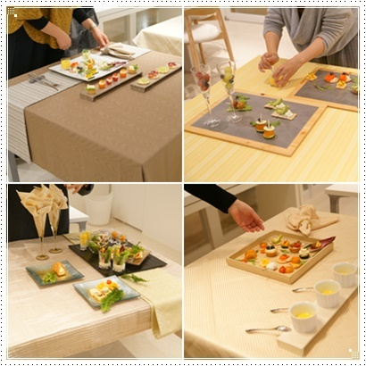 オードブルプレートを作る♪&松坂屋テーブル展示のご案内 ~フードスタイリングクラス_d0217944_20255922.jpg