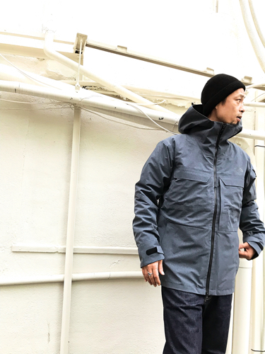 "Put on the ""Powdance Triclimate Jacket\"" !! ①_d0227059_16224064.jpg"