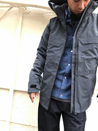 "Put on the ""Powdance Triclimate Jacket\"" !! ①_d0227059_16224541.jpg"