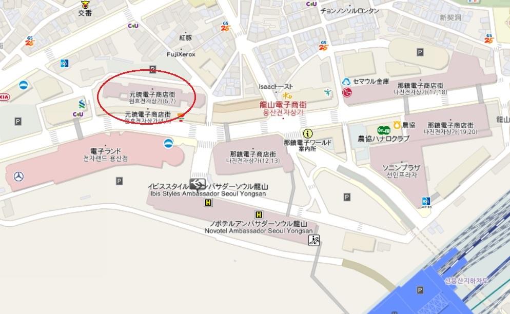 トゥー・カップス巡り② 龍山電子街_f0378683_22520760.jpg