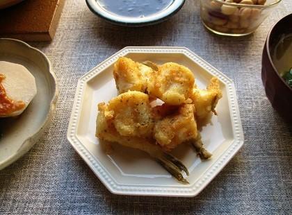 GABANスパイスの『イタリアンパセリ』と『ガラムマサラ』で白身魚のふんわりカラっと揚げ♪_a0305576_21290231.jpg