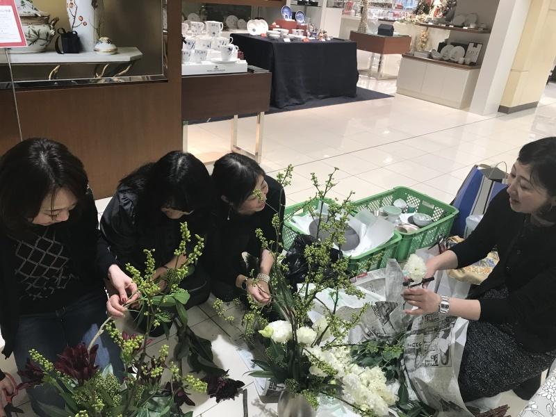 迎春 アリタポーセリンラボ(福岡岩田屋新館6階)_c0366777_00100109.jpg