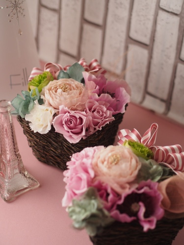 【Brown wreath/Pink box/newyear/Bazaar】_d0144095_20411025.jpg
