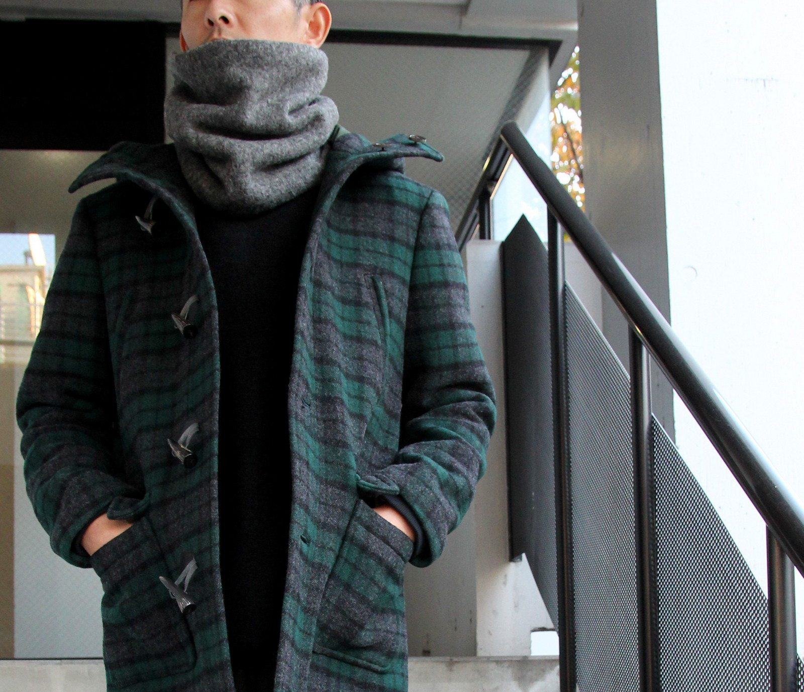 Wool Knit×Boa Neck Warmer_c0379477_20255499.jpg