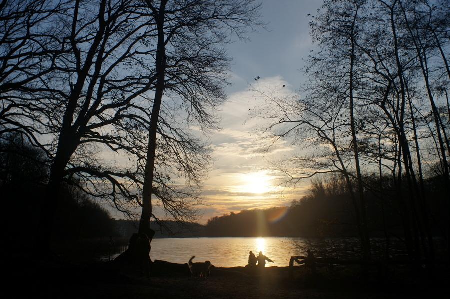 グルーネヴァルト湖_c0180686_14125527.jpg