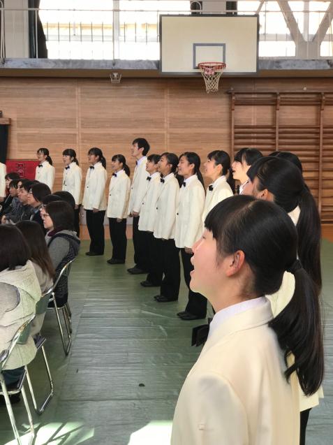 福山市立鷹取中学校 音楽鑑賞会♪...