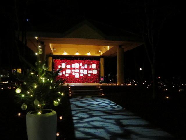 軽井沢高原教会*クリスマスキャンドルナイト・2017~光の十字路_f0236260_00471834.jpg