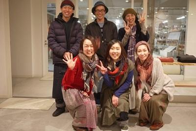 本日(12/2(土))スタート!玉木新雌のショール展6 at  hakutoya_f0226293_08475651.jpg