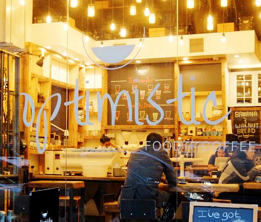 「Optimistic」(楽観的)という名のニューヨークのカフェ_b0007805_0513696.jpg