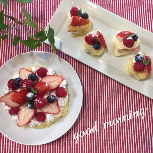 berry berryパンケーキ_c0223630_13125670.jpg