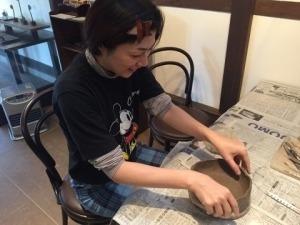 第47回むくのき倶楽部陶芸教室_f0233340_16255208.jpg