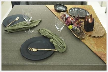 キャンドルで夜カフェ気分のテーブル ~インストラクタークラス_d0217944_22051610.jpg