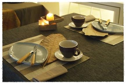 キャンドルで夜カフェ気分のテーブル ~インストラクタークラス_d0217944_22054895.jpg