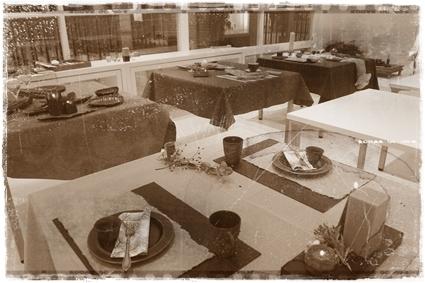 キャンドルで夜カフェ気分のテーブル ~インストラクタークラス_d0217944_22304984.jpg