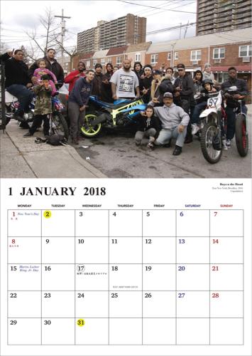 NY!! 2018 Calendar…from【212.MAG】._d0227059_12121091.jpg