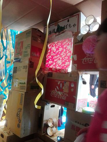 くわナさんとダンボールでおうちを作って遊ぼう_d0139575_23254820.jpg