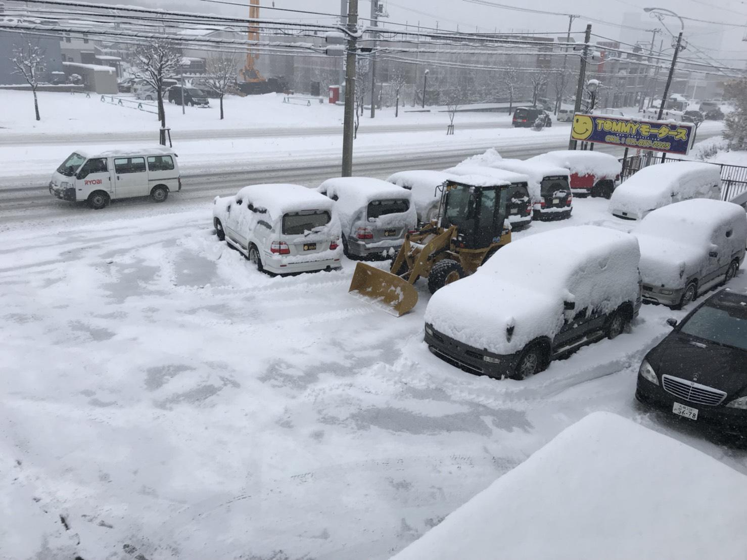 12月5日 火曜日のひとログ(´▽`) 除雪シーズン到来!!除雪車リース承り〼!自社ローン☆_b0127002_163057.jpg