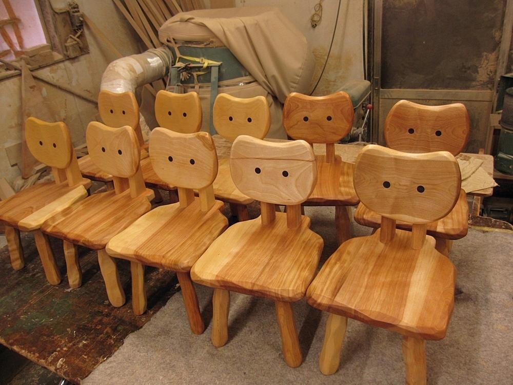 【予告】こねこ椅子10脚_e0072513_16315994.jpg