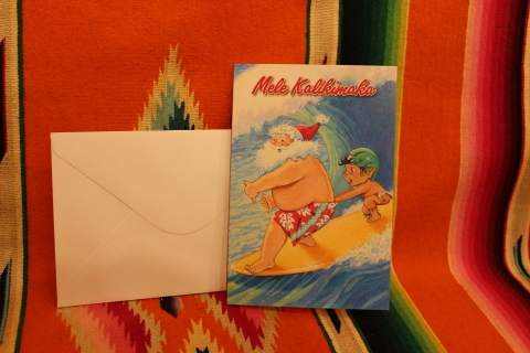 常夏ハワイより届いた「クリスマスカード」_f0191324_08000580.jpg