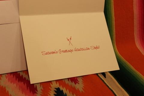 常夏ハワイより届いた「クリスマスカード」_f0191324_08010940.jpg