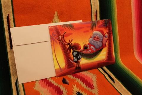 常夏ハワイより届いた「クリスマスカード」_f0191324_08012124.jpg