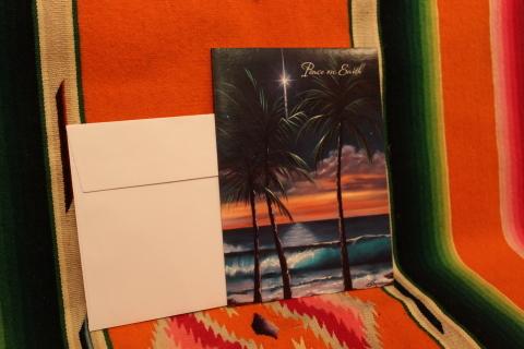 常夏ハワイより届いた「クリスマスカード」_f0191324_08025043.jpg