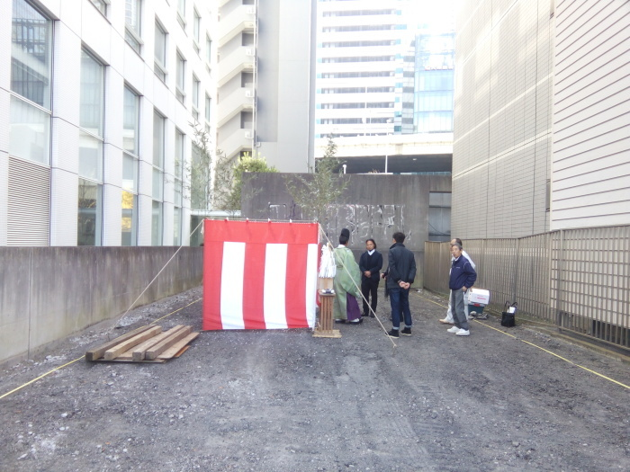 「横浜金港町計画」地鎮祭_f0230666_11060041.jpg