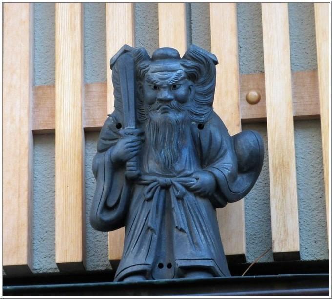 京都・高瀬川四季airで開催中の「洛中の鍾馗さんと鬼瓦展」を観る_b0104092_15563842.jpg