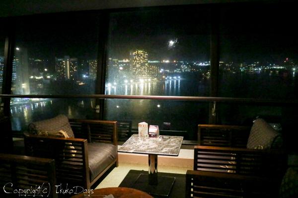 夜景に乾杯!食後はしばしの寛ぎタイム「桃李BAR」:『ホテル・ニッコー・グアム』グアム(GUAM)_d0114093_22552074.jpg
