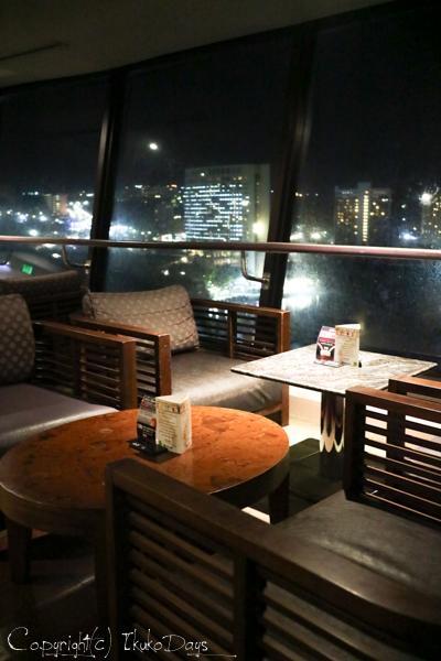 夜景に乾杯!食後はしばしの寛ぎタイム「桃李BAR」:『ホテル・ニッコー・グアム』グアム(GUAM)_d0114093_22553168.jpg