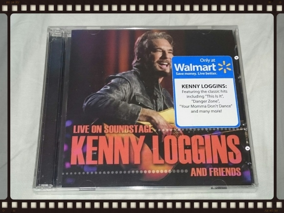 KENNY LOGGINS AND FRIENDS / LIVE ON SOUNDSTAGE Walmart限定盤_b0042308_18045398.jpg