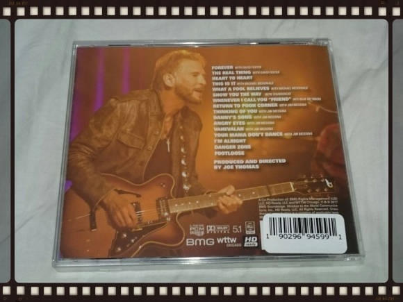 KENNY LOGGINS AND FRIENDS / LIVE ON SOUNDSTAGE Walmart限定盤_b0042308_18050194.jpg