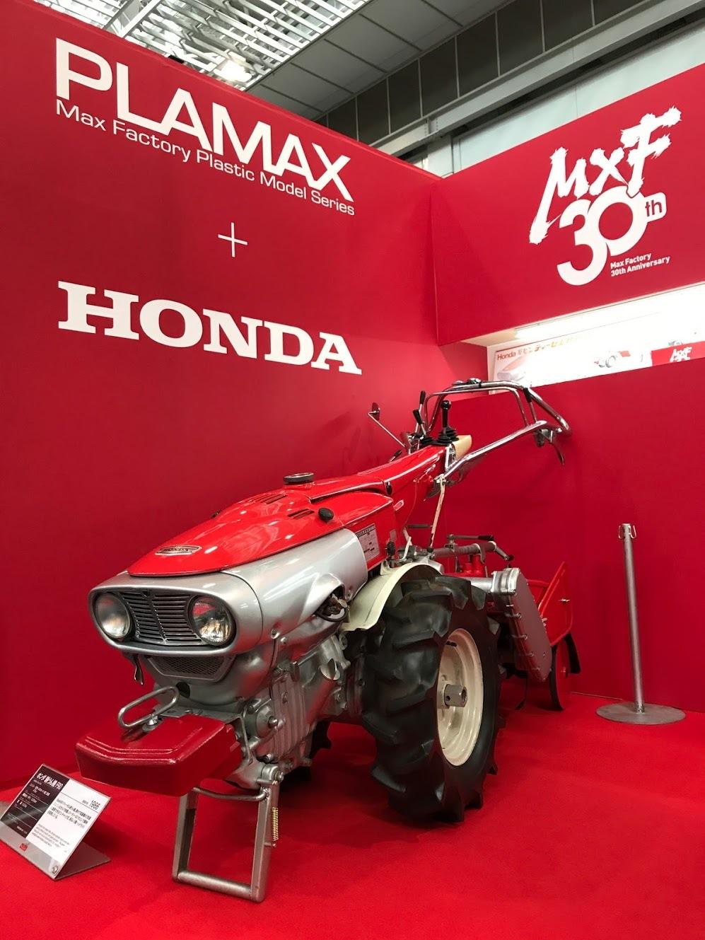 タイムレスなデザインは美しい!耕うん機&農ガールのプラモデルが案内開始です。_f0395912_16033577.jpg