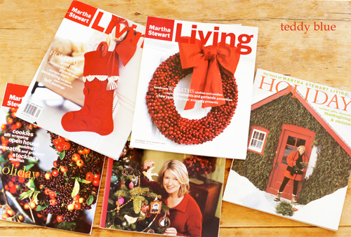 Martha Stewart Living Holidays マーサのホリデー!_e0253364_17461664.jpg