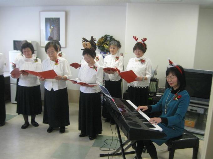 クリスマスのコーラス会_b0159098_10283101.jpg