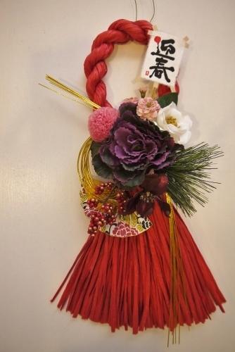 お正月のしめ縄飾り体験レッスン_c0182100_09155398.jpg