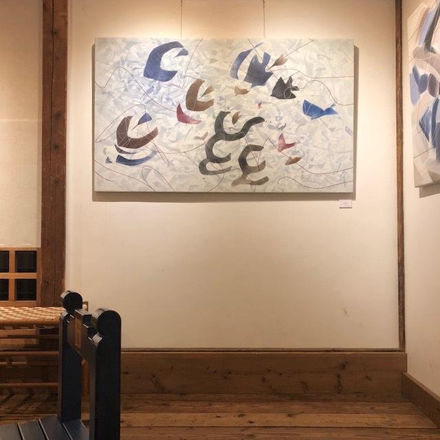 2017.12①内田美代子展 Jouer au vent〜風遊ぶ丘〜_e0138627_19575402.jpg