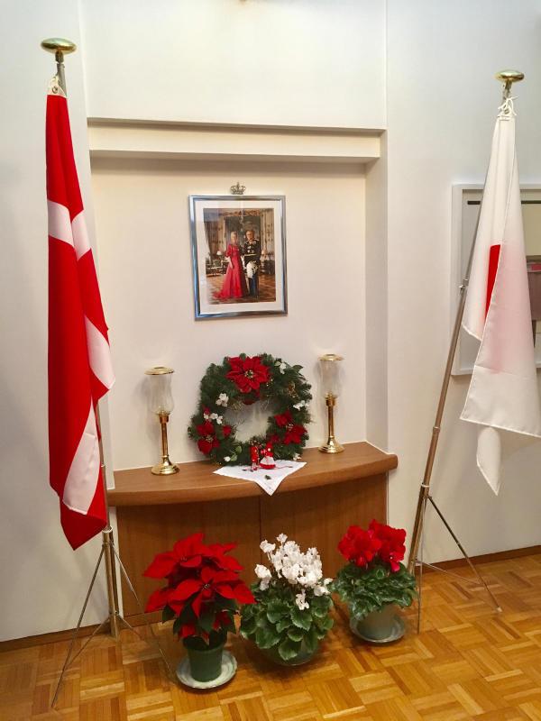 ル プレジール デンマーク王国大使館公邸でのクリスマスティーパーティー_c0195496_12084299.jpg