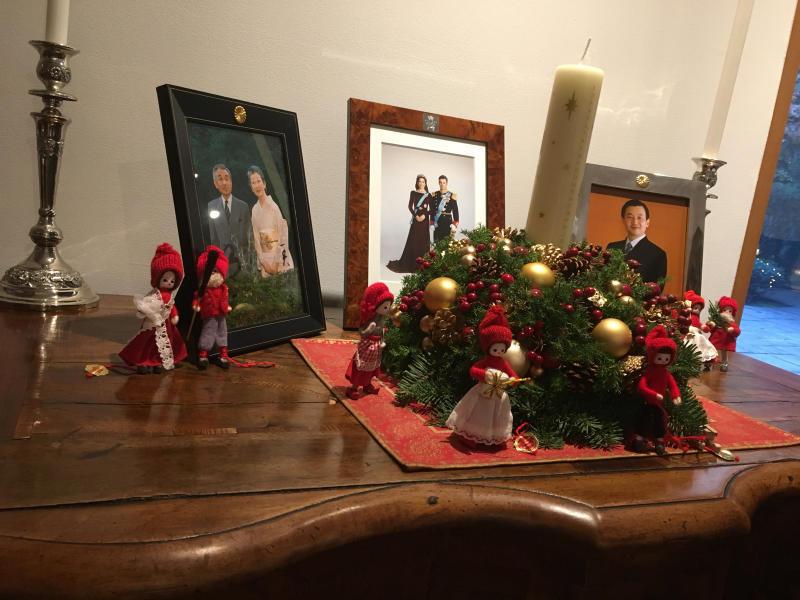 ル プレジール デンマーク王国大使館公邸でのクリスマスティーパーティー_c0195496_12135282.jpg