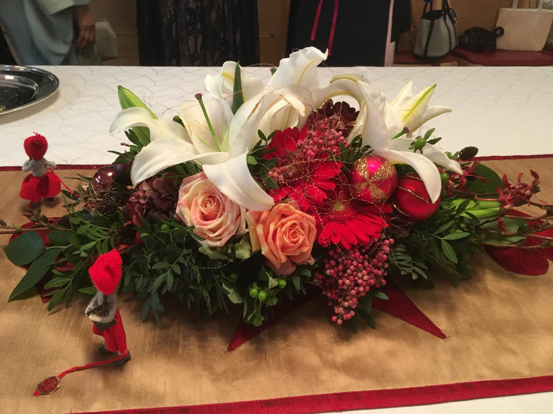 ル プレジール デンマーク王国大使館公邸でのクリスマスティーパーティー_c0195496_12402464.jpg