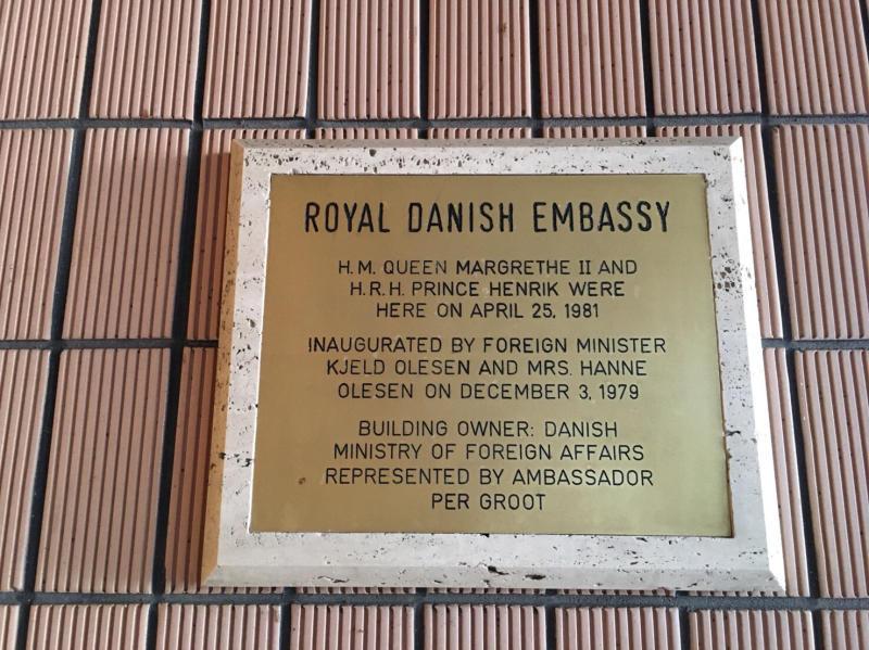 ル プレジール デンマーク王国大使館公邸でのクリスマスティーパーティー_c0195496_13062831.jpg