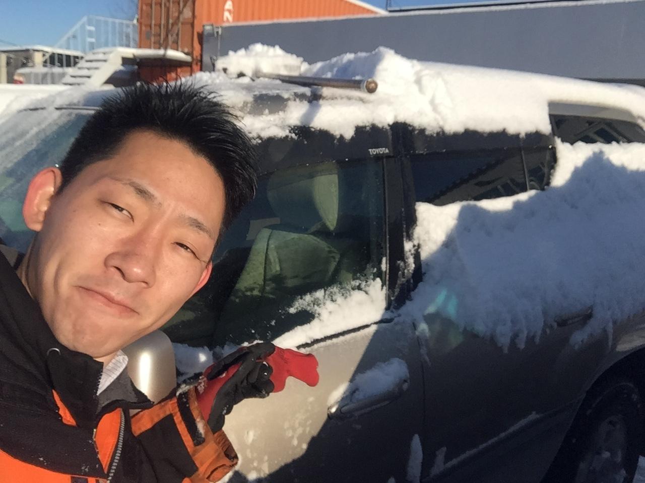 12月8日 金曜日のひとログ( 'ω' )ノ 本日大雪★TOMMY除雪機大活躍!!!除雪車リースも承り〼★_b0127002_19493699.jpg