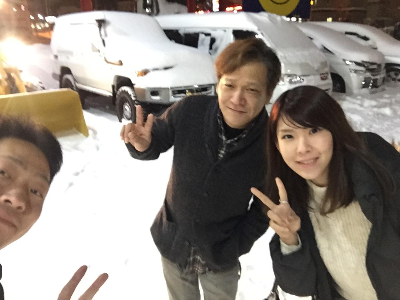 12月8日 金曜日のひとログ( 'ω' )ノ 本日大雪★TOMMY除雪機大活躍!!!除雪車リースも承り〼★_b0127002_19562029.jpg