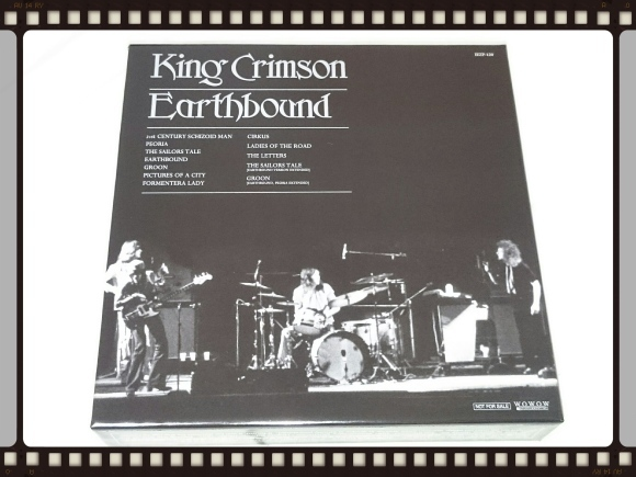 KING CRIMSON / EARTHBOUND  40周年HQCD + DVDエディション_b0042308_12053068.jpg
