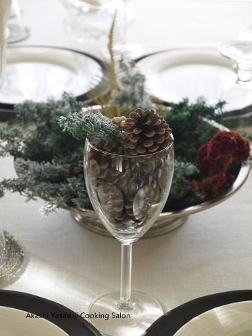 2017・クリスマスレッスン/テーブルと料理_f0361692_14115159.jpg