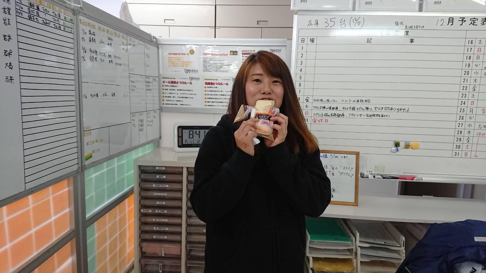 12月9日(土)☆TOMMYアウトレット☆あゆブログ(*^^)v カローラアクシオY様納車♪N-BOX+ M様ご成約♪_b0127002_15560981.jpg