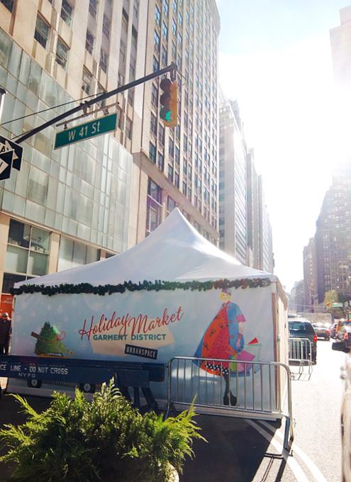 今年誕生したNYの新しいホリデー・マーケットの1つ、Garment District Holiday Market_b0007805_21221879.jpg