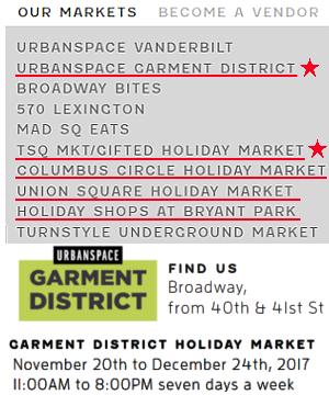 今年誕生したNYの新しいホリデー・マーケットの1つ、Garment District Holiday Market_b0007805_21233368.jpg