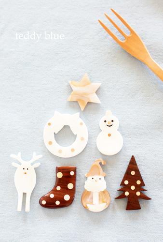 Christmas chopstick rests  クリスマスのお箸置き_e0253364_00202177.jpg